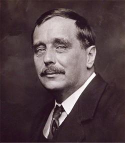 H. G. Wells, 1920 photographiert von G. C. Beresford